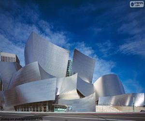 Walt Disney Concert Hall, USA puzzle