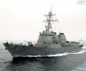 Warship, destroyer puzzle