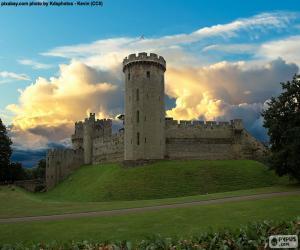 Warwick Castle, England puzzle