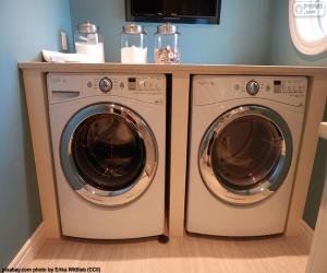 Washing machine and dryer puzzle