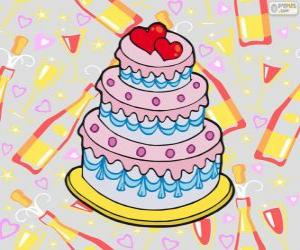 Wedding cake puzzle