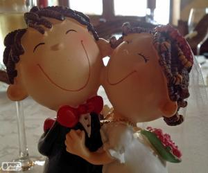 Wedding dolls puzzle