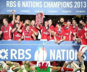 Welsh champion the 2013 Six Nations puzzle