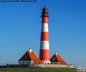 Westerheversand Lighthouse, Germany puzzle
