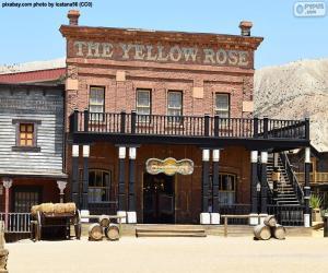 Western saloon puzzle