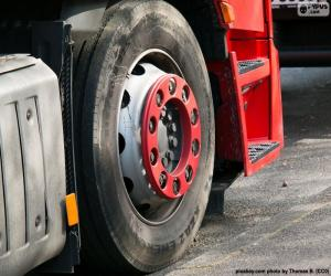 Wheel truck puzzle