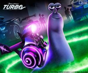 Whiplash from Turbo the movie puzzle