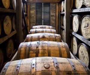 Whisky Barrels puzzle