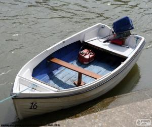 White boat puzzle