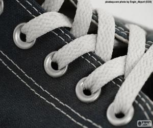 White laces puzzle