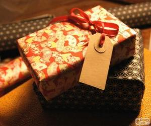 Who is the gift for? puzzle