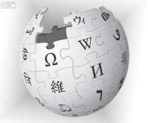 Wikipedia logo puzzle