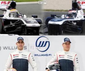 Williams F1 Team 2013 puzzle