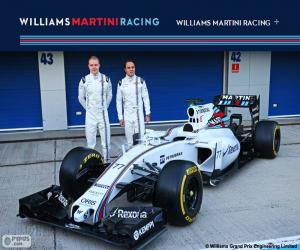 Williams F1 Team 2015 puzzle