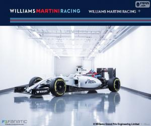 Williams F1 Team 2016 puzzle
