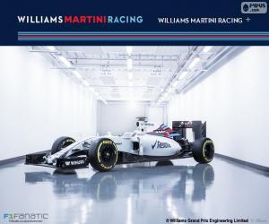 Williams F1 Team 2016 puzzle