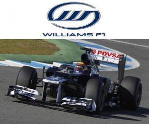 Williams FW34 - 2012 - puzzle