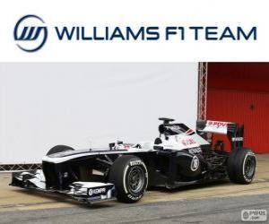 Williams FW35 - 2013 - puzzle