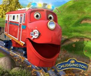 Wilson, the locomotive protagonist from Chuggington puzzle