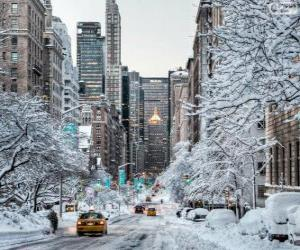 Winter in New York puzzle