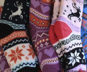 Winter socks puzzle