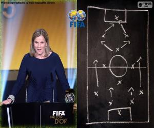 Women's World Coach FIFA 2015 puzzle