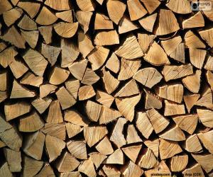 Wood cut puzzle