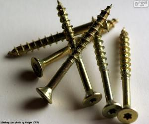 Wood screws puzzle