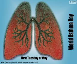 World Asthma Day puzzle