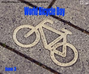 World Bicycle Day puzzle