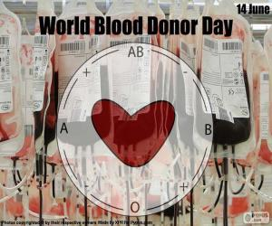 World Blood Donor Day puzzle