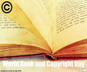 World Book and Copyright Day puzzle