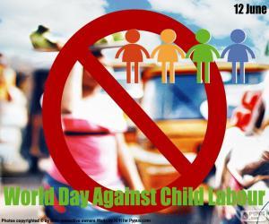World Day Against Child Labour puzzle
