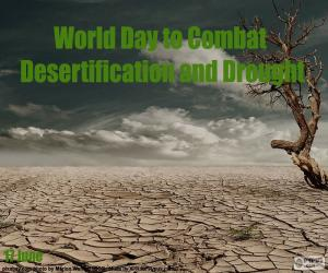 World day of fight against Desertification puzzle