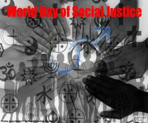World Day of Social Justice puzzle