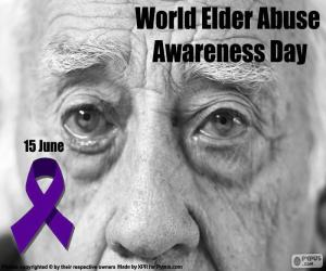 World Elder Abuse Awareness Day puzzle