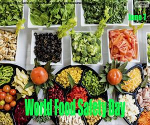 World Food Safety Day puzzle