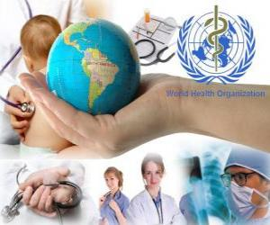 World Health Day, commemorating the founding of the WHO on April 7, 1948 puzzle
