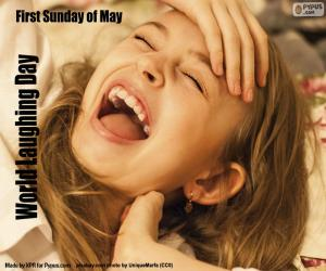 World Laughing Day puzzle