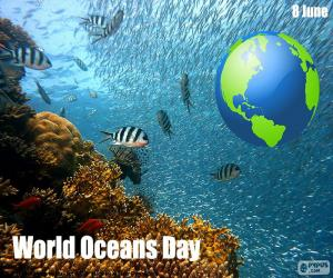 World Oceans Day puzzle