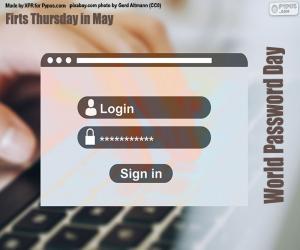 World Password Day puzzle
