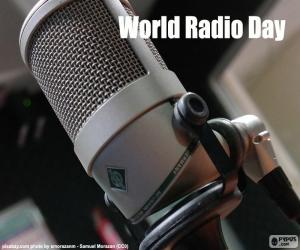 World Radio Day puzzle