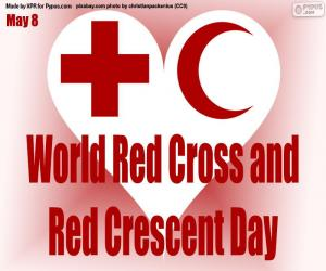 World Red Cross and Red Crescent Day puzzle