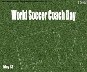 World Soccer Coach Day puzzle