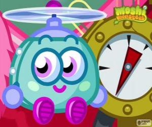 Wurley the Twirly Tiddlycopter. Moshi Monsters puzzle
