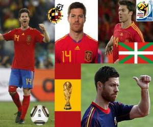 Xabi Alonso (Lung) Spanish National Team Midfielder puzzle