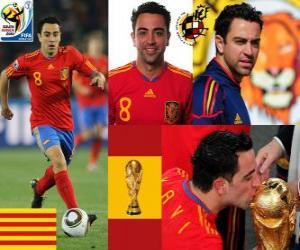 Xavi Hernandez (The baton) Spanish National Team Midfielder puzzle