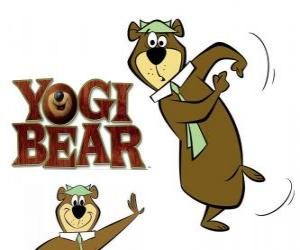 Yogi Bear live great adventures in Jellystone Park puzzle