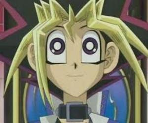 Yugi Moto or Yugi Muto is the boy protagonist of the first adventures of Yu-gi-oh! puzzle