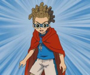 Yuuto Kido or Jude Sharp plays in the midfield and is the sub-captain of Raimon's team puzzle